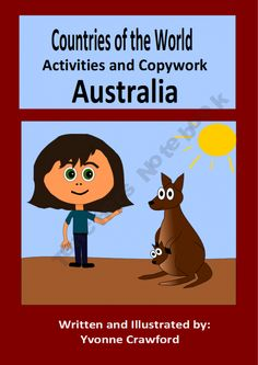 This booklet focuses on the country of Australia. Your students will learn facts about Australia while practicing their manuscript and cursive handwriting and engaging in fun activities.