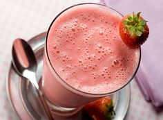 Double Strawberry Milkshake Recipe
