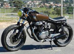 CB 400 by Renan Braido | Garagem Cafe Racer: