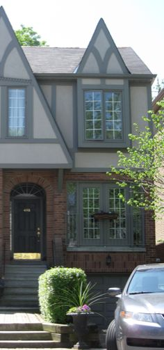 Gray Brick House Color Schemes House Styles 1980s 2008