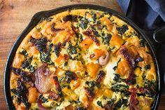 Pumpkin and leafy green frittata – Recipes – Bite | Nadia Lim