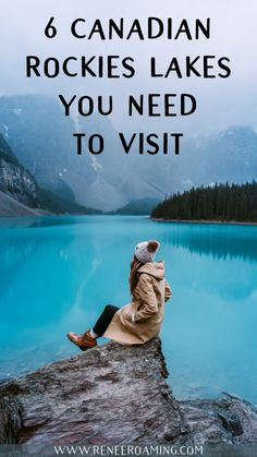 Top 6 Must-See Lakes in the Canadian Rockies - Renee Roaming - Maligne Lake Lake Louise Moraine Lake Peyto Lake Bow Lake Banff Yoho Vancouver Island, Canada Travel, Travel Usa, Canada Trip, British Columbia, Banff National Park, National Parks, Cool Places To Visit, Places To Travel