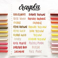 Crayola Calligraphy, Calligraphy Doodles, Brush Lettering, Hand Lettering, Bujo, Drawing Block, Crayola Supertips, Pretty Notes, Study Inspiration
