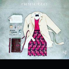 New outfit!!! #totallook #NENETTE #bag #pegboutique #nowonline www.pegboutique.com  APERTI TUTTE LE DOMENICHE! !! 15.30-19.30