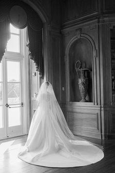 Wedding Dress with Train | photography by http://www.alexisjuneweddings.com