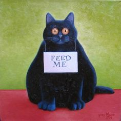 Cats in Art, vicky mount