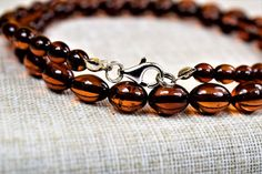 Adult Amber Necklace Genuine Baltic Amber. Adult Necklace.