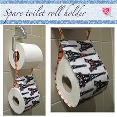 Spare Toilet Roll Holder Tutorial
