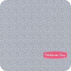 Next Wave Gray Tonal Maze Yardage SKU# 0527-144 - Fat Quarter Shop