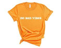 Good Vibes Shirt, Peach Shirt, Shirt Shop, T Shirt, Ringer Tee, Ash Color, White Shirts, Apparel Design, Colorful Shirts