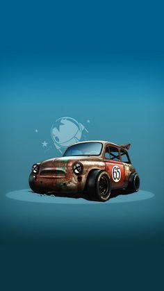 New Mini Cars Drawing Ideas New Mini Cars Drawing Ideas Porsche, Audi, Fiat 600, Car Illustration, Illustrations, Cool Car Drawings, Toyota, Honda, Engin