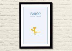 Fargo Movie Poster Art Print 11 X 17 Modern by LiltDesignCompany, $23.00