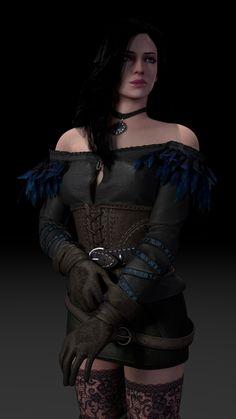 Witcher - The Last Wish The Witcher 3, The Witcher Wild Hunt, The Witcher Books, Witcher Art, Yennefer Witcher, Yennefer Cosplay, Yennefer Of Vengerberg, Fantasy Women, Fantasy Girl