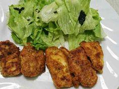 サラダチキンのカレー風味ピカタ(^-^)の画像