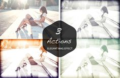 You will get $1 each time you share. Elegant Fashion Mag Effect Actions -