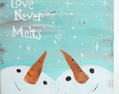 Love Never Melts painting