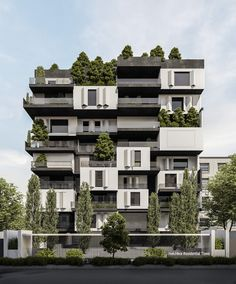 Residential Complex, Residential Architecture, Amazing Architecture, The Expanse, Greenery, Tower, Fashion Decor, Open Spaces, Interior Design