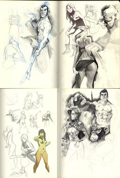 Dear Moleskin- Plane doodles by ChaseConley.deviantart #sketchbook #ketch #sketches #drawing #art #artwork #characters