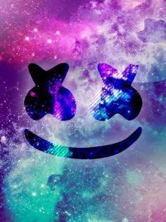 Download wallpapers Marshmello, Dj, logo, emblem, wall
