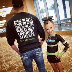 Dad Support Cheer Competition Athlete shirt! For Dad Daddy Dads! Cheer Competition!