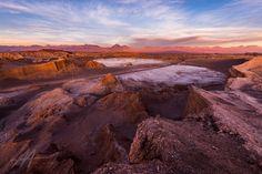 Valley de la Luna Sunset - Valle de la Luna Chile