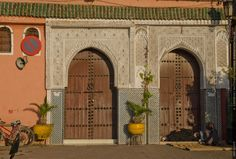 Fotografie Matthias Schneider 160319 25519 Marrakesch Moscheetore