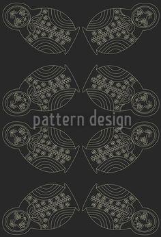 Matryoschka By Night Pattern Design Vector Pattern, Pattern Design, Patterns, Night, Illustration, Artwork, Inspiration, Block Prints, Biblical Inspiration