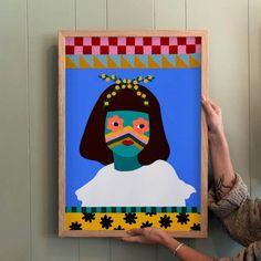 Beci Orpin My Works, Illustration Art, Presentation, October, Gallery, Frame, Painting, Melbourne, Inspiration
