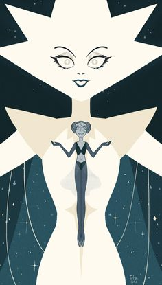 YES. MY DIAMOND. FINALLYYYYYY! FINALY THEY SHOWED HER TO US!! YAAY! They both are so messed up on so many levels. Poor Pearl! Hope Steven will be able to heal her. But OMG white diamond is beautiful and intimidating. But I guess we'll have to wait...