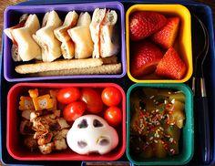 Bento Boxes for fun & healthy lunches Toddler Lunch Box, Bento Box Lunch For Kids, Vegan Lunch Box, Toddler Lunches, Lunch Ideas, Lunch Boxes, Bento Ideas, Toddler Food, Bento Recipes