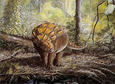 Panoplosaurusby Brian Franczak