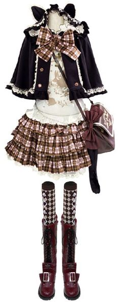 I wish I could pull something like this off. I would just look like a fat kid playing dress up <- It looks like something Hinamori Amu would wear am I right?