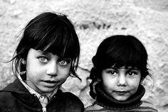 Fillettes tsiganes roms de Slovaquie