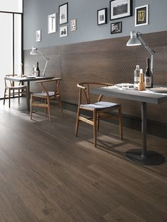 Wood-Stock by Lea Ceramiche - Coffee - Porcelain Tile
