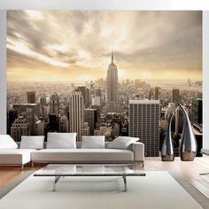 Lebendige Wandbilder und Tapeten Vlies Tapete New York http://www.borsch-info.de/