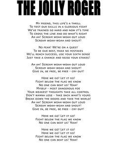 THE JOLLY ROGER [Album: BLOODSUCKERS] #VAMPS #HYDE #KAZ #LYRICS #MUSIC #BLOODSUCKERS #THEJOLLYROGER