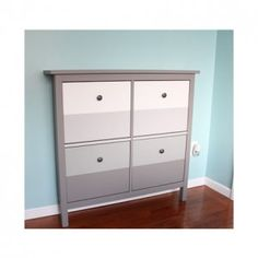 step by step of a hemnes shoe cabinet hack constructed and painted also includes assembled dimensions and