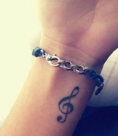 Want my treble clef tattoo on my hip now. Getting $1k soon, so very excited to spend that on more ink.