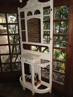 mueble antiguo recuperado