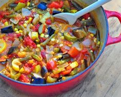 Summer Vegetable Stew - Weight Watchers 0 points