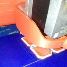 Something we liked from Instagram! Really did not like how the smooth rods fit into my Y corners so I am printing a new set from the same stl file as my pictured printer and doing it in PLA instead of ABS.  I want this printer to be perfect then I can tear this one down and rebuild everything I do not like about it  #3DPrint #3dprinters #3dprinter #reprap #makers #maker by weaz1118 check us out: http://bit.ly/1KyLetq