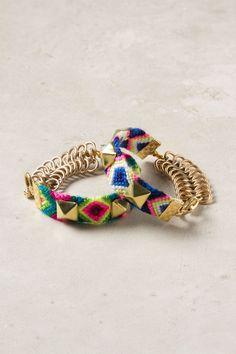 Hardware Hue Bracelet - Anthropologie - ideas abound!