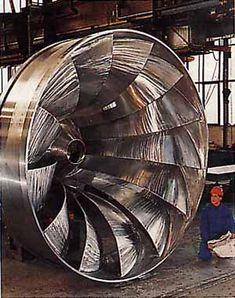 Francis turbine Mechanical Engineering Projects, Physics Projects, Civil Engineering, Water Turbine, Gas Turbine, Francis Turbine, Used Construction Equipment, Hydroelectric Power, Welding Jobs