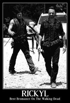 Rick Grimes and Daryl Dixon - TWD
