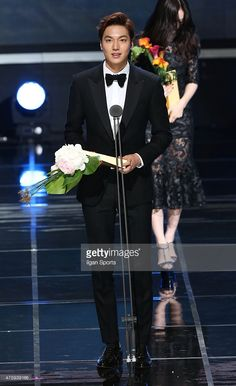 Lee Min-Ho attends the 51st Baeksang Arts Awards at Grand Peace Palace in Kyung Hee University on May 26, 2015 in Seoul, South Korea.