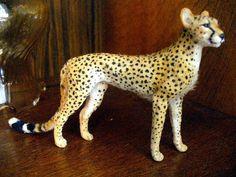 Dollhouse Miniature Cheetah *Handsculpted* 1:12 Scale