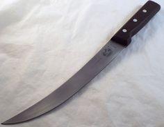 Bread Knives, Chef Knives, Kitchen Cutlery, Kitchen Knives, Butcher Knife, Knifes, Vintage Kitchen, Blade, Stainless Steel