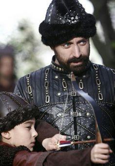 Sultan Suleiman and Sehzade Mustafa
