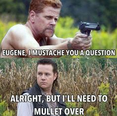 Maybe my favorite TWD meme so far.