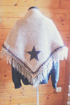 omslagdoek/shawl haken/crochet
